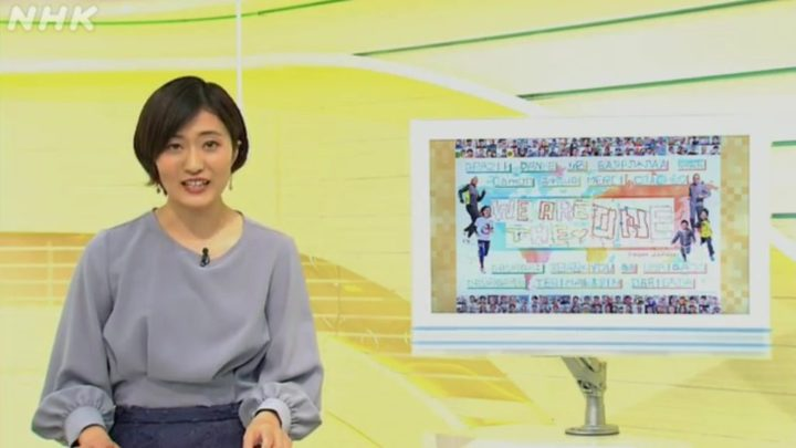 NHK神戸で「世界にありがとう」プロジェクトが紹介されました!